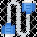 Vga Cable Vga Port Vga Connector Icon
