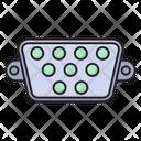 Vga Port Connector Icon
