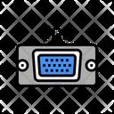 Vga Computer Port Icon