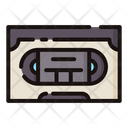 Vhs Tape Tape Recording Icon