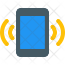 Ringing Mobile Function Icon