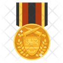 Victor Medal Achievement Award Icon