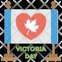 Queen Victoria Canada Icon