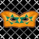 Victorian Mask Mardi Gras Masquerade Mask Icon