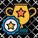 Achievement Athletics Cup Icon