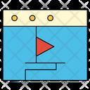 Video Media File Icon