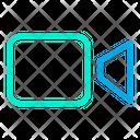 Camera Video Camera Decording Icon