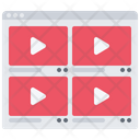 Video Player Website Icon