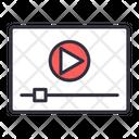 Video Advertising Marketing Icon