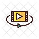 Video View Vr Video Icon