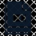 Multiple File Video Icon