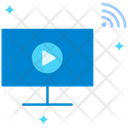 Video Online Streaming Online Video Icon