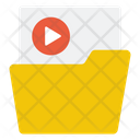 Video File Folder Icon