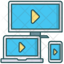 Video Streaming Device Icon