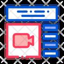 Design Internet Video Icon