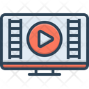 Video Show Demonstrate Icon