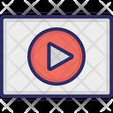 Video Play Movie Icon