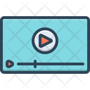 Video Technology Play Icon