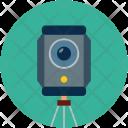 Video Recording Tripod Icon
