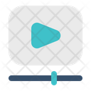 Video Playback Play Icon