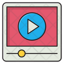 Video Player Ads Icon