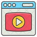 Video Ads Digital Icon