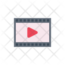 Video Play Reel Icon
