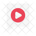 Video Play Comment Icon