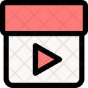 Video Streaming Play Icon