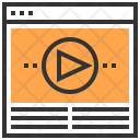 Video Graphic Marketing Icon