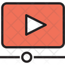 Video Video Streaming Streaming Icon