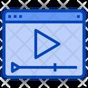 Video Play Seo Icon