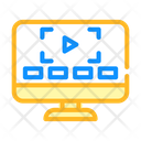 Video Online Video Video Play Icon