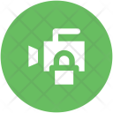 Video Camera Lock Icon