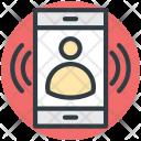 Video Call Voice Icon