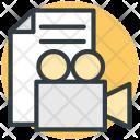 Video File Camera Icon