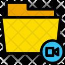 Video Clip Folder Icon