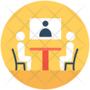 Video Conference Meeting Icon