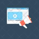 Video Blog Ad Icon