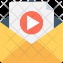 Video File Envelop Icon