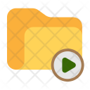 Video Folder Cinema Icon