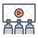 Video Conference Call Icon