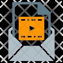 Video Movie File Icon