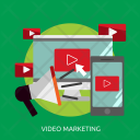 Video Marketing Play Icon