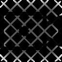 Video Camera X Icon
