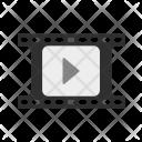 Video Reel Movie Icon