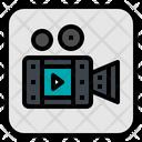 Video Vdo Camera Icon