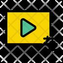 Video Adjustment Video Setting Video Icon
