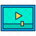 Video Ads Video Adverisement Video Advertising Icon