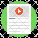 Video Advertisement Online Icon